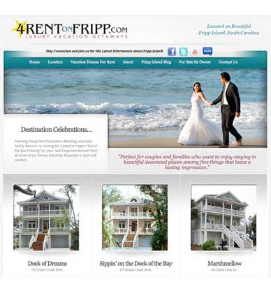 4RentonFripp.com Website Redesign