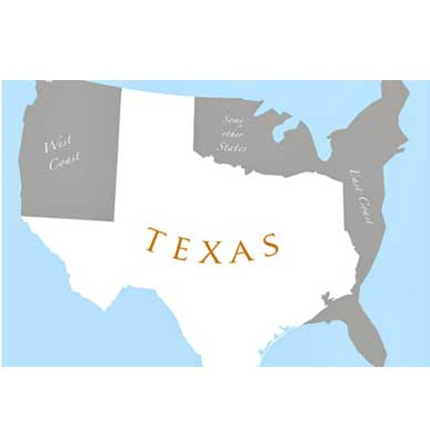 Top 25 State Business Climate Rankings - Texas Dominates the List